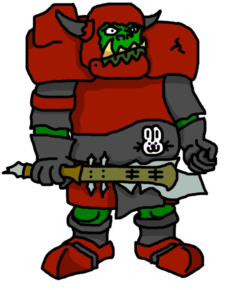Goblannoyed Orc