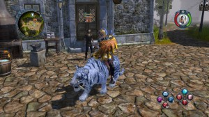 Purchase mounts and armor in towns