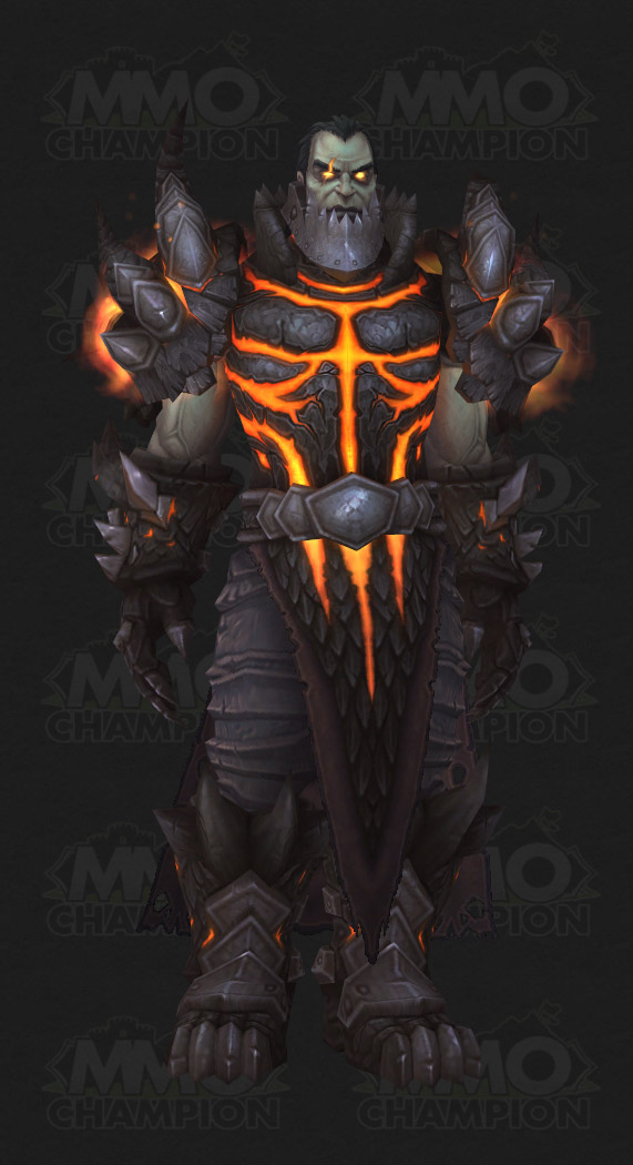 Who has Malygos humanform and Deathwing humanform model ...