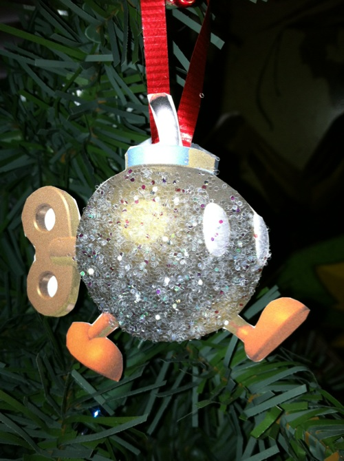 Nintendo Christmas Tree Ornaments
