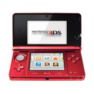Nintendo 3DS Flame Red