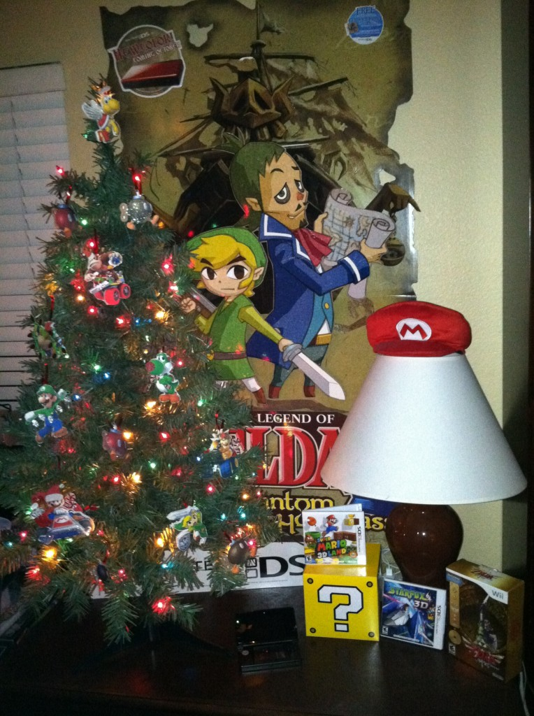 Nintendo Christmas Tree