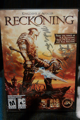 Signed Reckoning Box