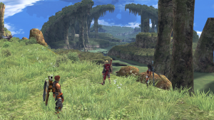 Xenoblade Chronicles open world