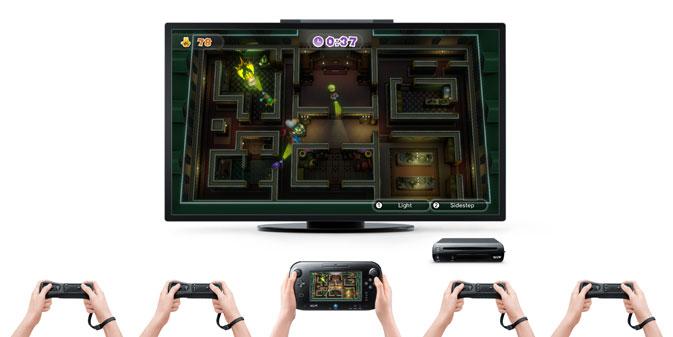 Nintendo Land WIi U: Luigi's Ghost Mansion