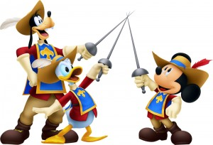 Kingdom Hearts 3D Dream Drop Distance Musketeers