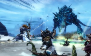 Claw of Jormag event in GW2