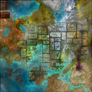 Guild Wars 2 Leveling Guide Map