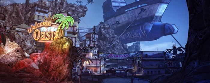 Borderlands 2 DLC: Oasis