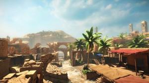 MMO Desert environment