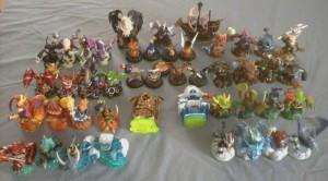 All Skylanders Figures