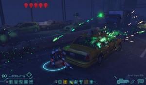 XCOM Sniper takes cover