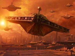 Star Destroyers in Planetside 2