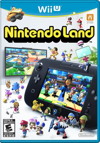 Nintendo Land box art