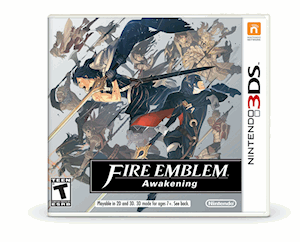 Fire Emblem Awakening Box Art