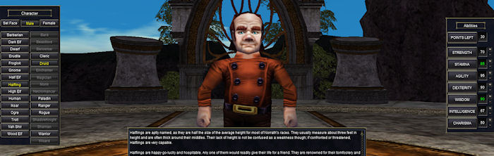 EQ Character Customization