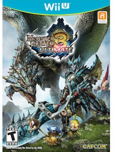 Monster Hunter-3 Ultimate Wii U Box art