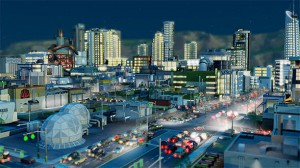My cities look like this with tons of traffic jams.  Well, and sickness, fires, and theft.