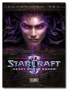 Heart of the Swarm Boxart