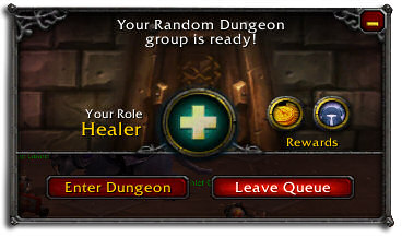 MMO Dungeon Finder