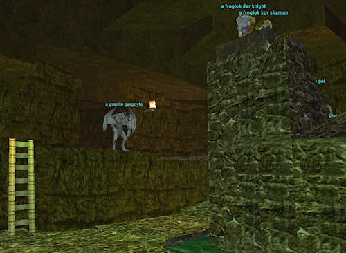 Old school MMO dungeons