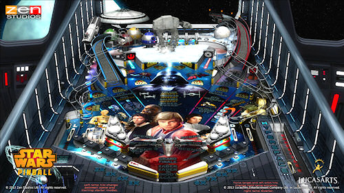 Star Wars Pinball Finally Hits Wii U!