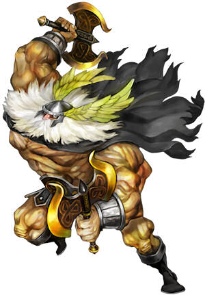 Dragon's crown dwarf