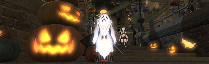FFXIV Ghost Costume