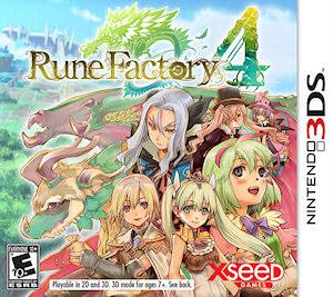 Rune Factory 4 Box Art