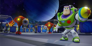 Toy Story in Space Combat Simulator