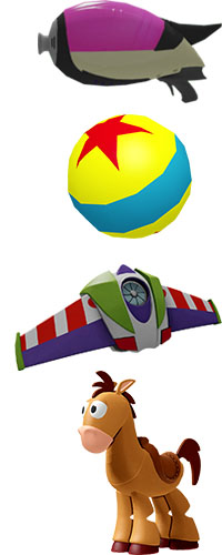 Toy Story in Space Items