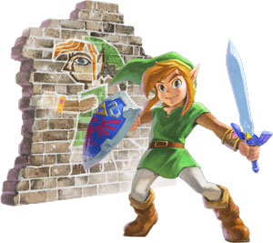 link-on-a-wall