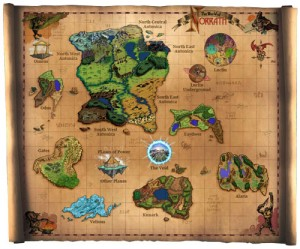 Map of Norrath