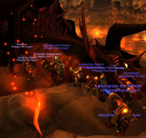Old SChool Onyxia Raid