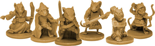 Mice and Mystics Miniatures