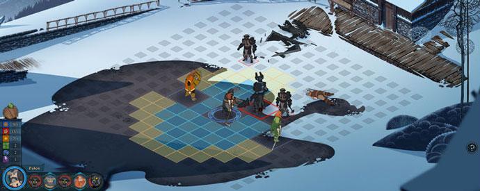 Banner Saga Gameplay