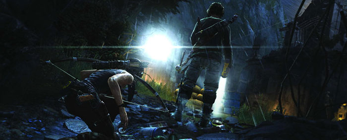 Tomb Raider Definitive Edition Sneaky bows and stuff