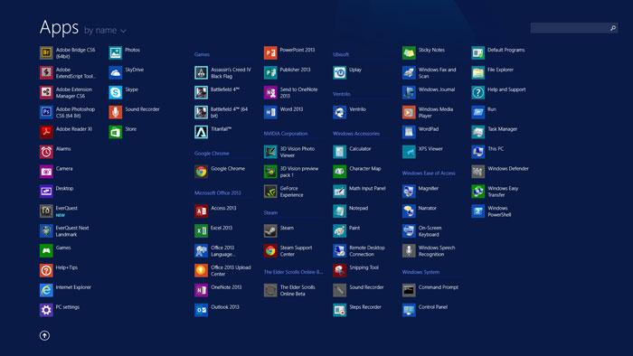 Windows-8,1-apps