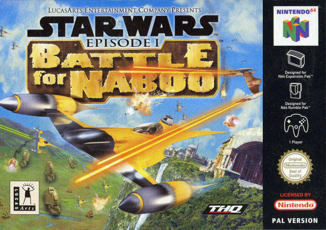 Battle for Naboo N64