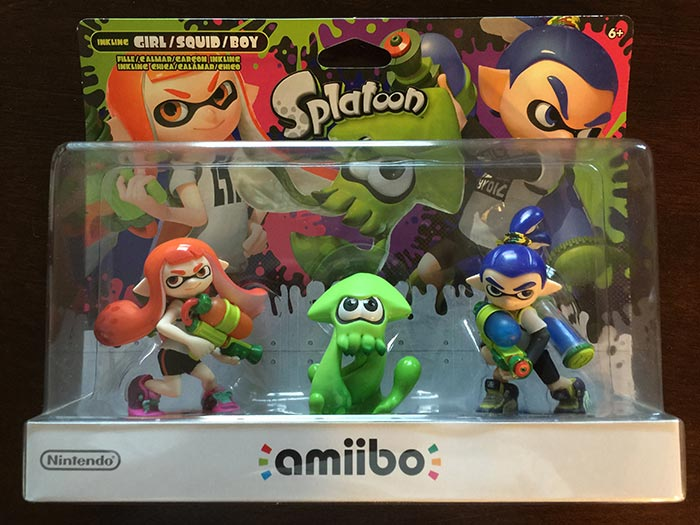 Splatoon Amiibos