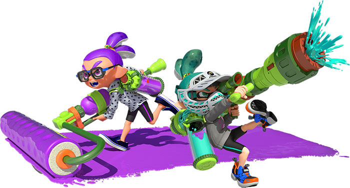 splatoon-combat