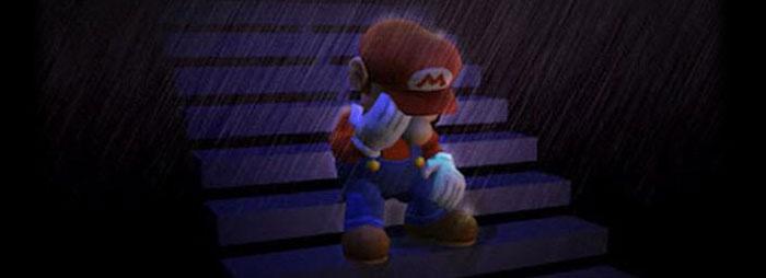 Mario mourns Satoru Iwata
