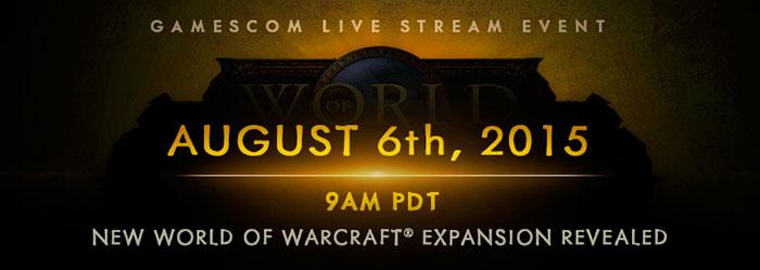 WoW Gamescom Announcement