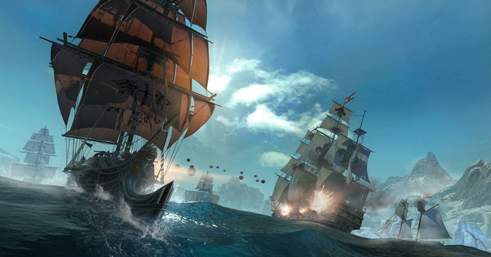 Assassin's Creed Rogue Naval Battles