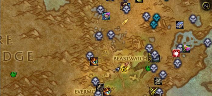 WoW Rare mob spawns