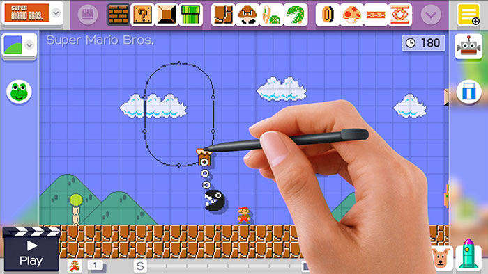 Super Mario Maker Building Tools
