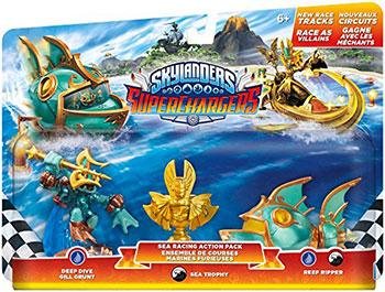 Skylanders Sea Racing Action Pack