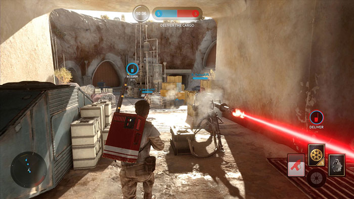 battlefront capture the flag mode