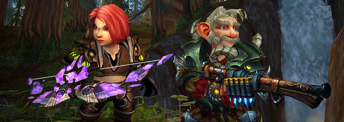 gnome hunter in WoW