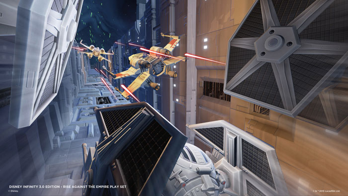 Rise Against the Empire Space Battles